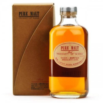Whisky Pure Malt Red 43º (NIKKA). 500 ml