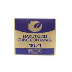 Sake junmaishu (HAKUTSURU). 18 L