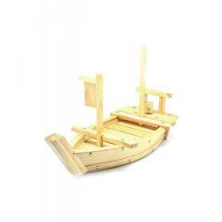 Barco de Madera CJ para Sushi de 50 cm