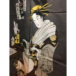 """Noren 85x150cm. Modelo: """"Geisha gris"""""""