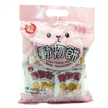 Galletas saladas en forma animal (QIO FU) 200 G