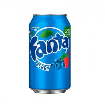 Fanta frutos del bosque (COCACOLA CO.) 350ml