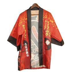 """Yukata """"símbolo rojo-negro-amarillo"""