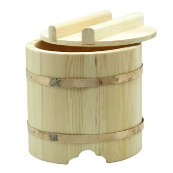 Termo de madera para arroz (OHITSU) 18X17 cm
