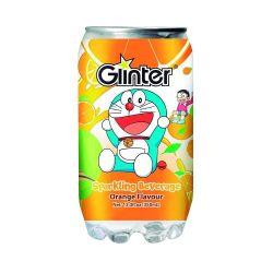 Bebida gaseosa con sabor de naranjas (GLINTER). 350ml