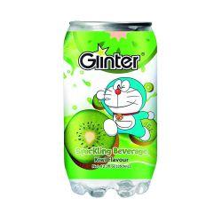 Bebida gaseosa con sabor de kiwi (GLINTER). 350ml