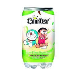Bebida gaseosa con sabor de manzana verde (GLINTER). 350ml