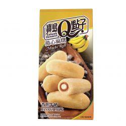 Mochi rollo rellena de crema de banana y leche 150g