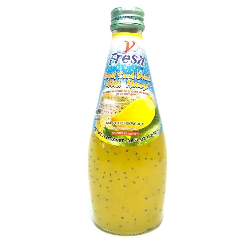 Bebida de mango y semillas (V-FRESH) 290ml