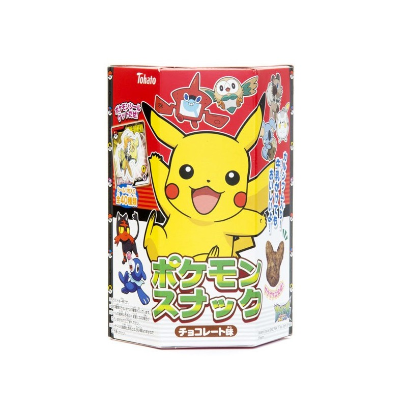 POKEMON chocolate snacks 23g