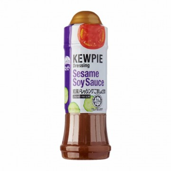 Aderezo de salsa de soja y sésamo (KEWPIE) 210ml