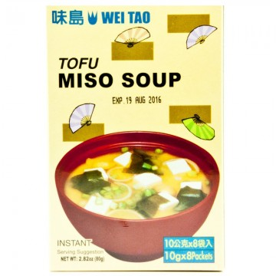 Imagén: Sopa de miso con tofu (WEI TAO) 8 sobresx10g