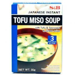 Sopa de miso con tofu...