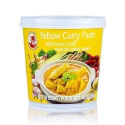Pasta curry amarilla...