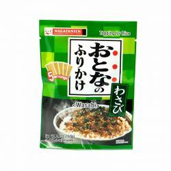 Nagatanien Furikake HON WASABI 11.5g/