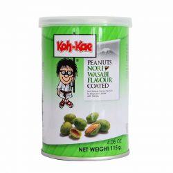 Cacahuetes con wasabi y...