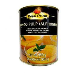 Pulpa de mango azucarado