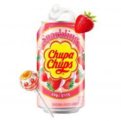 Bebida soda fresa nata CHUPA CHUPS 345ml