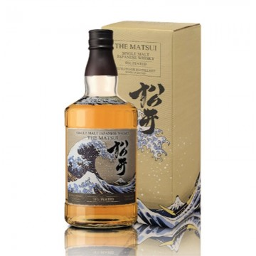 "Whisky japonés single malt "" PEATED"" (MATSUI) (Alc.48%) 70cl"