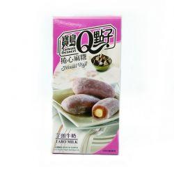 Mochi rollo relleno taro y leche (TAIWAN DESSERT) 150g