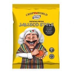 Patatas fritas JALISCO STYLE (CRISP THE WORLD) 35g