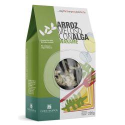 Arroz meloso con alga wakame (PORTO-MUIÑOS) 220g