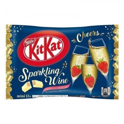 Kitkat sabor champagne de fresa (Nestle) 135,8g