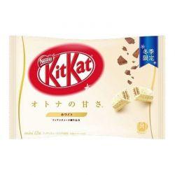 Kitkat sabor chocolate blanco (Nestle) 135,8g