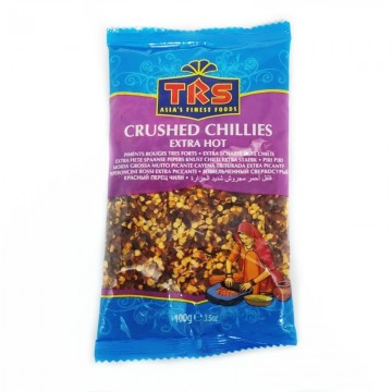Chili crushed extra hot (TRS) 100g