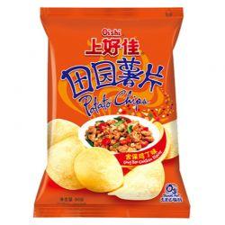 Chips Kongpao sabor Pollo (OISHI) 50g