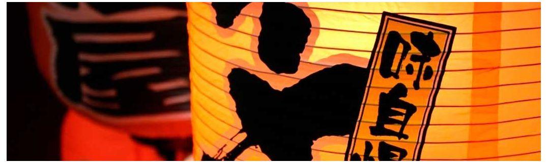 Lámparas japonesas y chinas