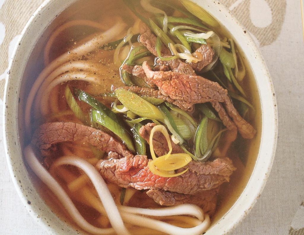 Receta de Sopa de fideos Udon