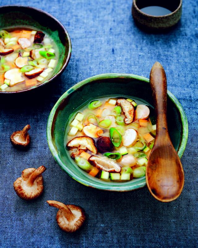 receta sopa de miso
