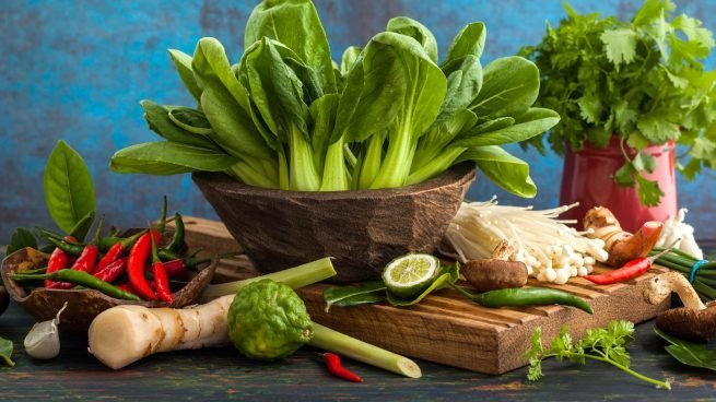 listado verduras exóticas